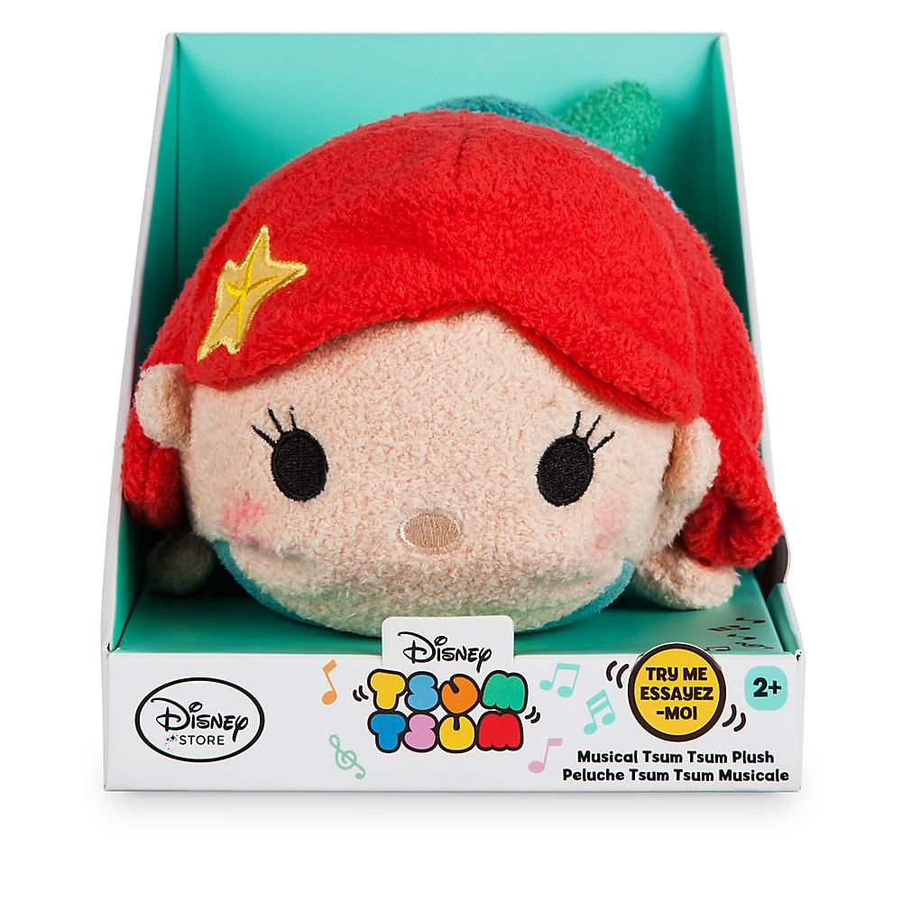 Amazon.com: Disney Ariel Musical Tsum Tsum Plush - 7 Inch: Toys & Games