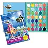 RUDE Merfantasia Eyeshadows Palette - Book 8
