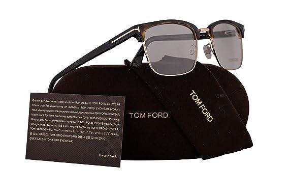 ad3b88cb5c29 Tom Ford FT5504 Eyeglasses 54-19-145 Dark Havana w Demo Clear Lens 052  TF5504 TF 5504 FT 5504  Amazon.co.uk  Clothing