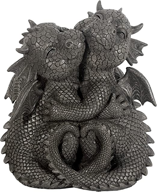 Dragón! De abrazo! Dulce! Jardín! Figura! Dragón! Fantasía!: Amazon.es: Jardín