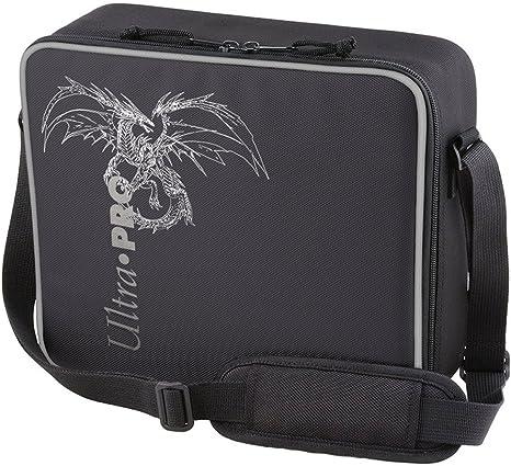 Ultra Pro Gaming Case Estuche de Juego Deluxe Dragón Negro con Borde Plateado, Hombre, 32.5cm x 29cm x 11.5cm: Amazon.es: Deportes y aire libre