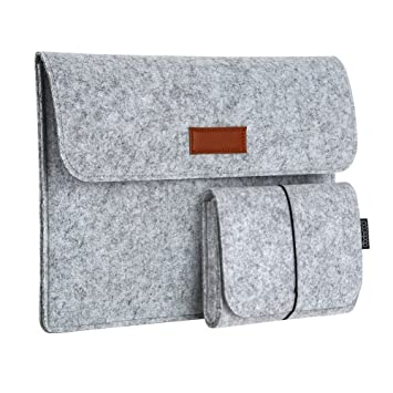 best service 8449e 152c7 dodocool 13.3 Inch Laptop Felt Sleeve Carrying Case with Mouse Pouch for  Apple 13