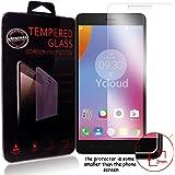 Ycloud Pellicola Protezione di schermo per Lenovo K6 Note (5.5 Pollici) in vetro temperato Ultra Resistente Protezione Esterna Durezza 9H (0,26mm HD Transparent High)
