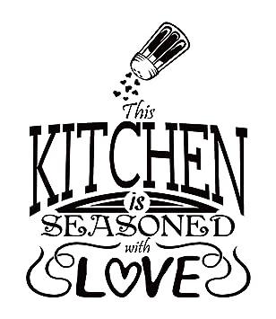 Etonnant Kitchen Decals For Wall: Home Kitchen Design Ideas/Kitchen Wall Decals  Quotes/Word