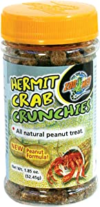 Zoo Med Hermit Crab Peanut Crunchies Treats, 1.85 oz.