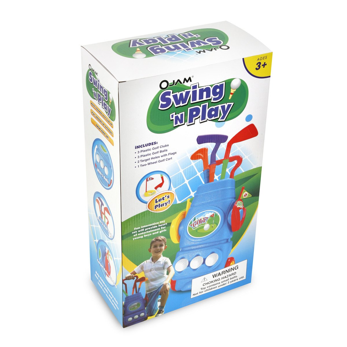 Ojam Swing 'N Play Kids Toy Golf Set (9) (9 Piece) by Ojam (Image #4)