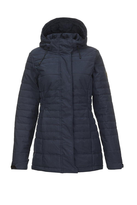 Killtec Damen Lasia Jacke in Daunenoptik   Winterjacke mit abzippbarer Kapuze