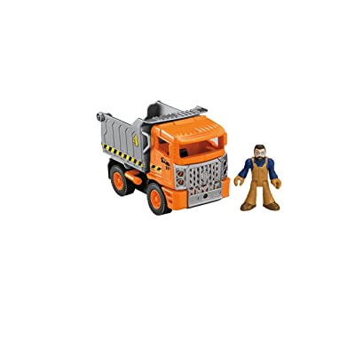 Fisher-Price Imaginext City Dump Truck: Toys & Games