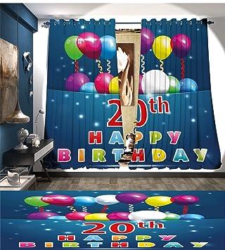 Amazon.com: mannwarehouse 20th cumpleaños ventana de ...