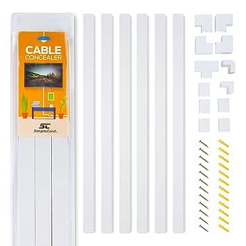 Kabelkanal Installationskanal-Kit für die Wand ...