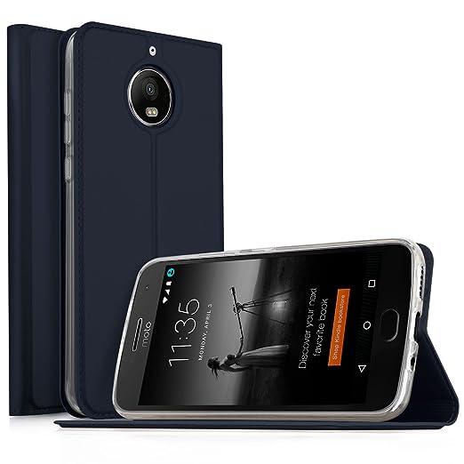 14 opinioni per MOTO G5S PLUS Cover , KuGi Slim Flip Cover Custodia per MOTO G5S PLUS Smartphone