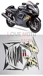Carbon fiber LoveMoto 3D Applique Protector For Suzuki GSXR Motorcycle Carbon Fiber Sticker Reflective Tank Pad