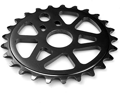 PROWHEEL - 15282 : Plato delantero BMX mecanizado CNC 25 dientes bici bicicleta: Amazon.es: Coche y moto