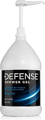 Defense Soap Body Wash Shower Gel 1 Gallon (128 Fl Oz)