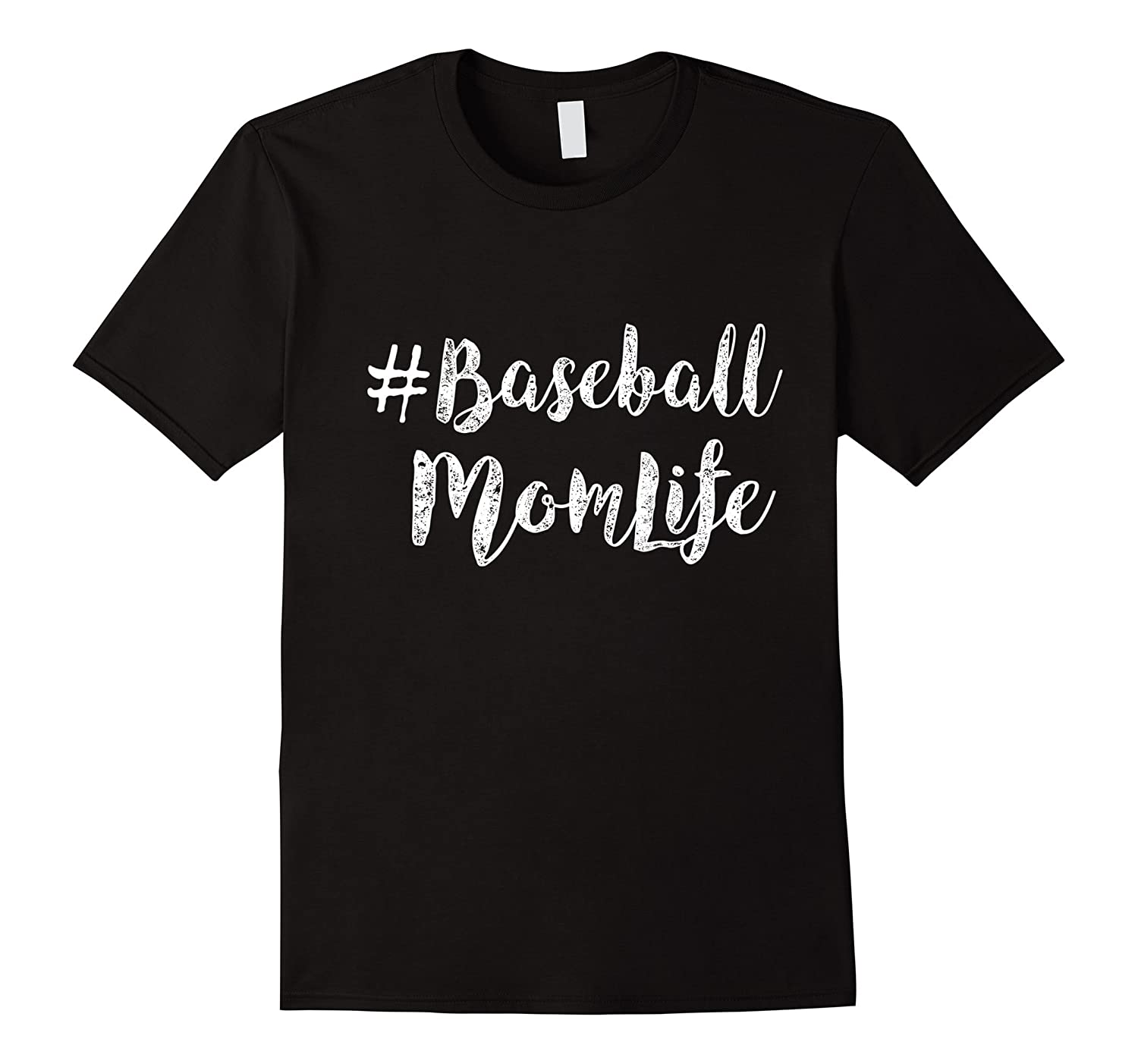 Baseball Mom Life funny t-shirt-TH