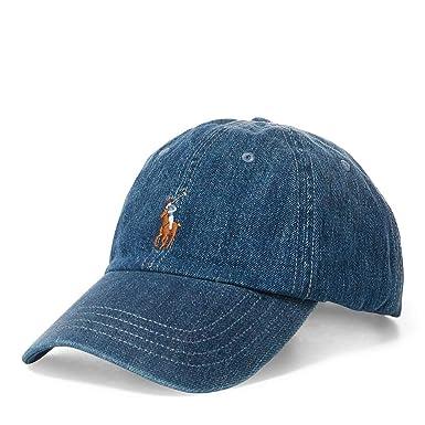 Polo Ralph Lauren 710716736001 Chapeaux Homme Jeans TU  Amazon.fr ... b2d090be82e