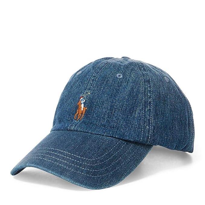 a basso prezzo morbido e leggero ultima selezione del 2019 Polo Ralph Lauren 710716736001 Cappelli Uomo Jeans TU ...