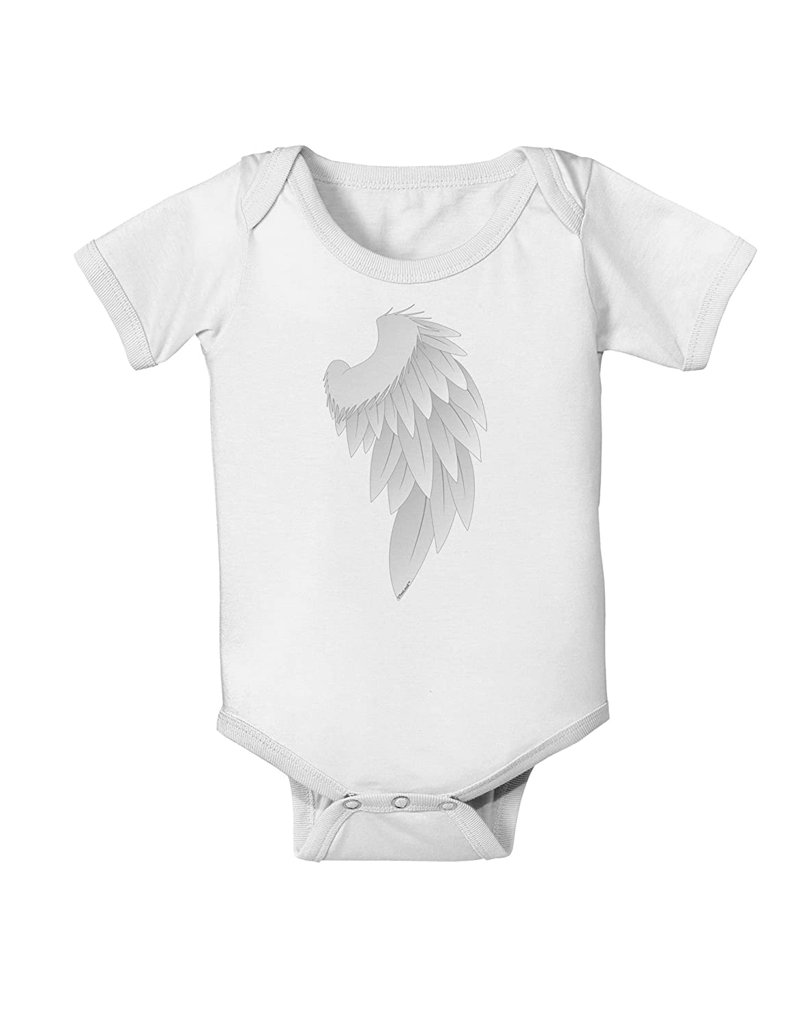 TooLoud Single Right Angel Wing Design Couples Baby Romper Bodysuit