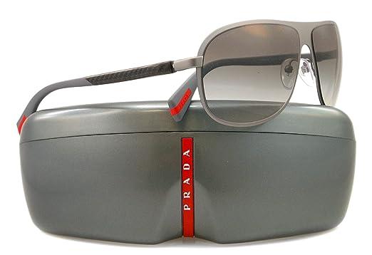 Amazon.com: Prada anteojos de sol SPS 56o Gris DG1 – 0 A7 ...