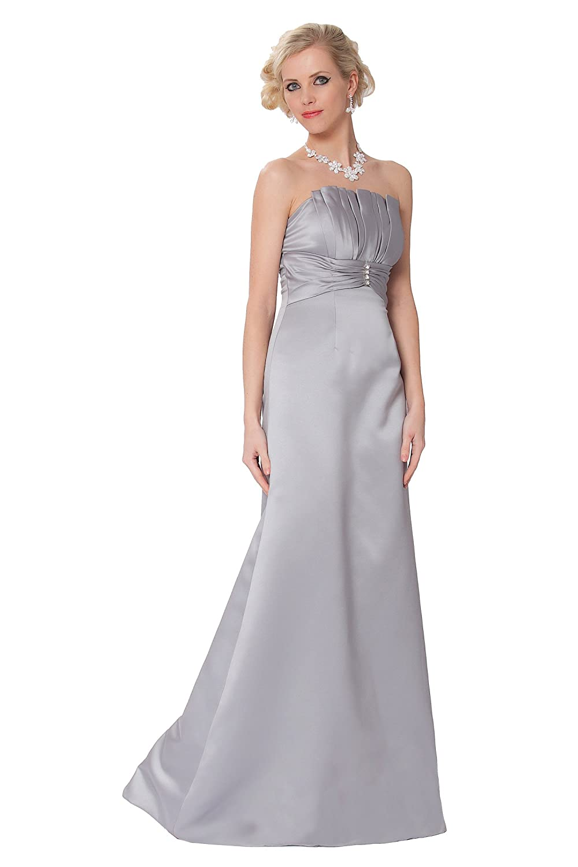 SEXYHER Gorgeous Full Length Strapless Bridesmaids Formal Evening Dress - EDJ1619
