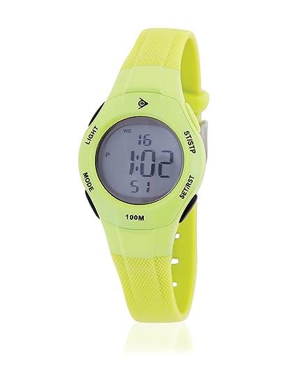 Dunlop Reloj Digital para Mujer de Automático con Correa en Resina DUN-178-L12: Amazon.es: Relojes
