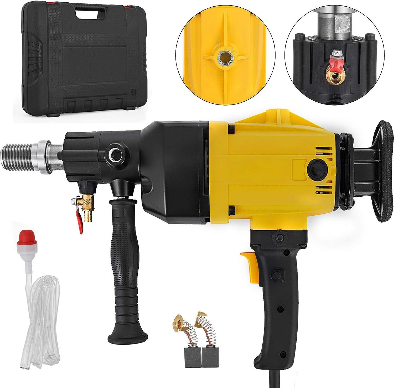 160mm Diamond Core Drill Wet//Dry Handheld Concrete Core Drill Machine 2180W 110V