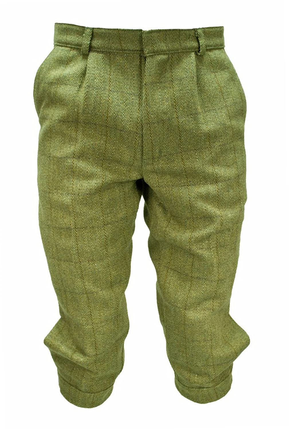 Vintage High Waisted Shorts, Sailor Shorts, Retro Shorts Tweed Breeks Trousers Pants Plus Fours by WWK / WorkWear King $54.95 AT vintagedancer.com