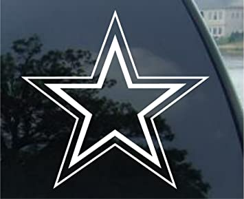 Amazoncom DALLAS COWBOYS Football Vinyl Car Decal Sticker - Cowboy custom vinyl decals for trucks