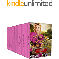 Romantic Duke's Search for Love (A 20-Book Regency Romance Box Set)