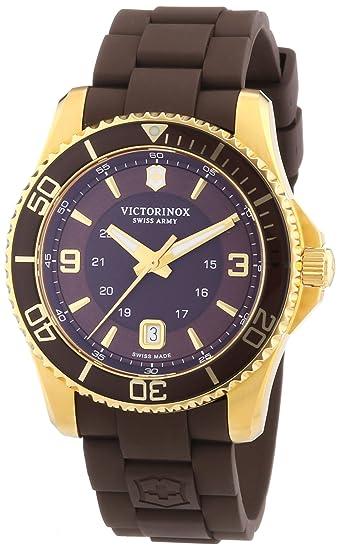 Victorinox Swiss Army Maverick 241608 - Reloj analógico de Cuarzo para Hombre, Correa de Goma