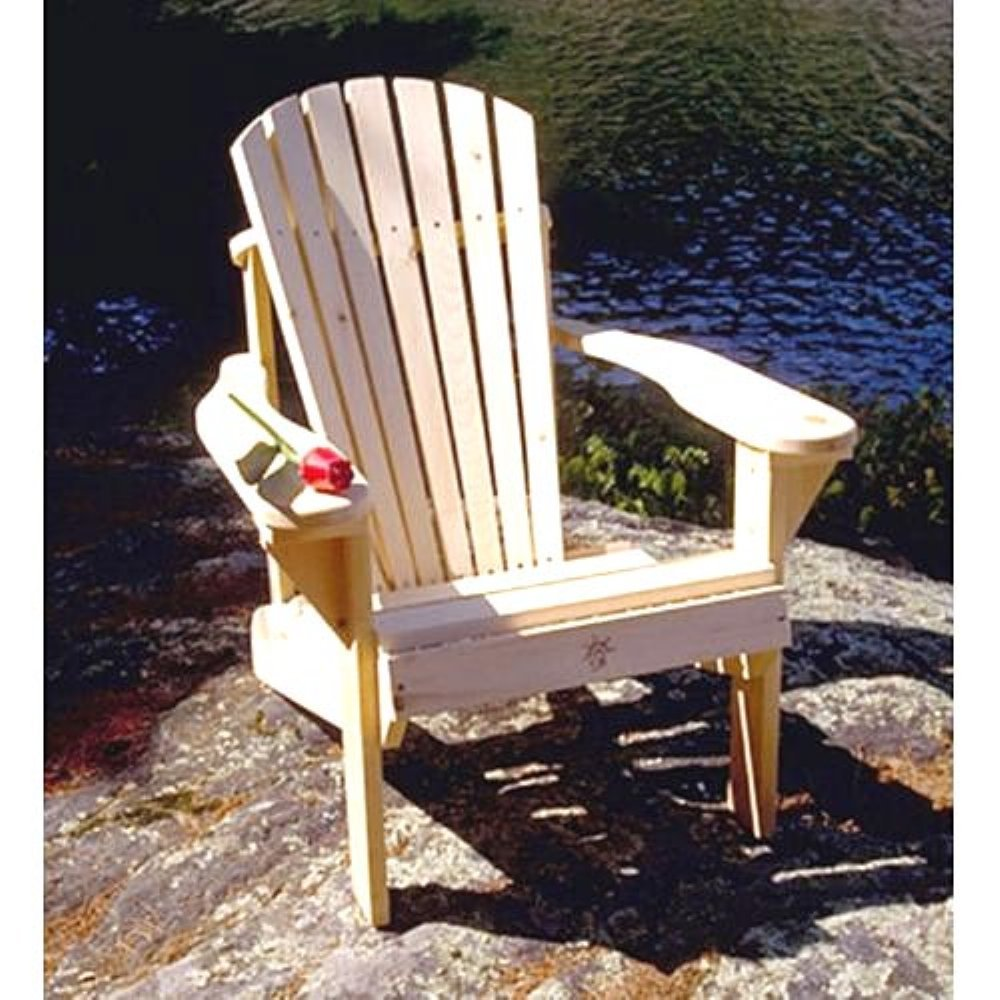 Amazon.com : Bear Chair BC101P Pine Muskoka Chair Kit : Garden U0026 Outdoor