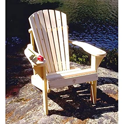 Bear Chair BC101P Pine Muskoka Chair Kit
