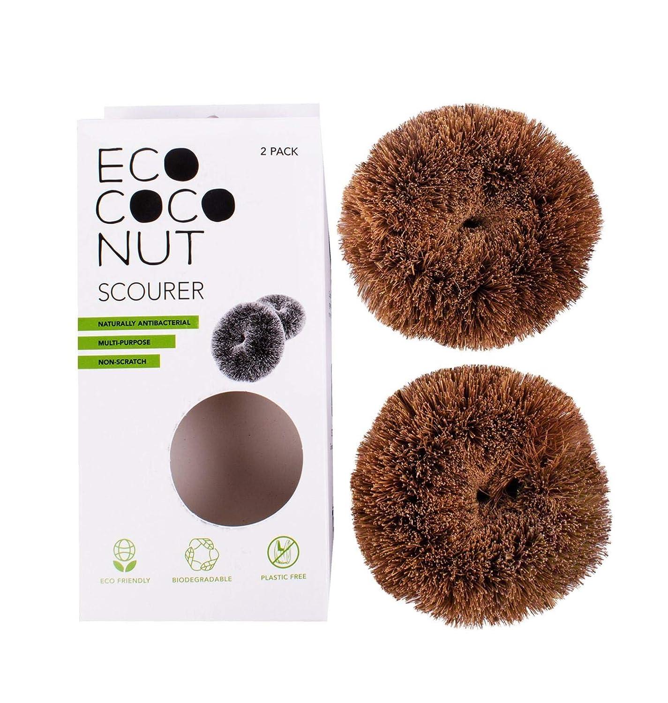 Eco Coco Lot de 2 grattoirs Multi-usages respectueux de lenvironnement