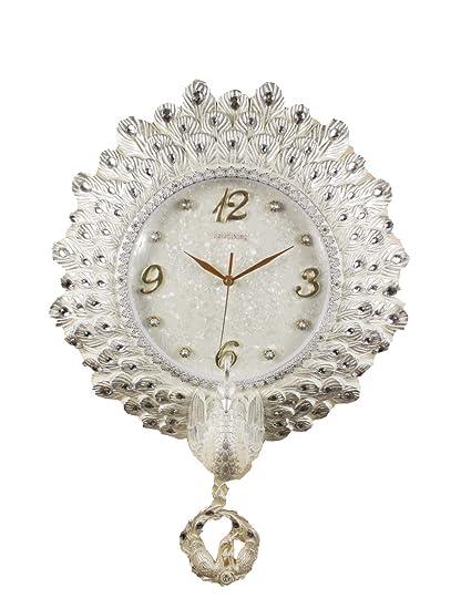 Reloj de pared moderno para salón de estilo europeo adornos de moda creativo hogar reloj de