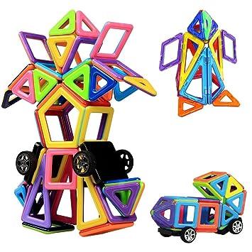 De Juego Años Creativos Más Juguetes Piezas Magnéticas Tech Niños Innoo Y 76 Construcción Educativos Para Bloques Mini 3 qSzMVUp