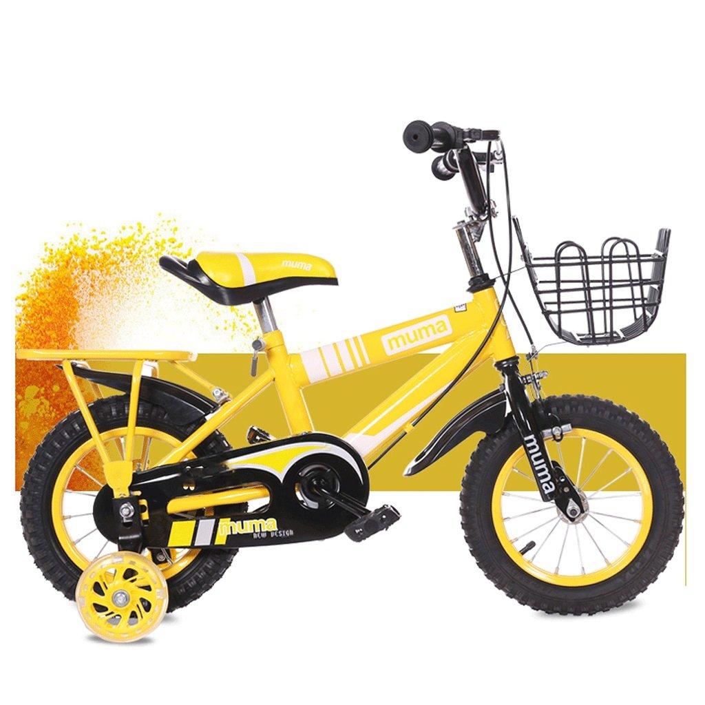 自転車 子供の自転車3歳のベビーペダル自転車2-4-6歳の男の子と女の子6-7-8-9-10歳の赤ん坊の運送 (サイズ さいず : 18inch) B07DPNN3RK 18inch 18inch