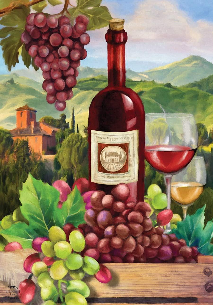 Briarwood Lane Wine Country Summer House Flag Vineyard Grapes 28