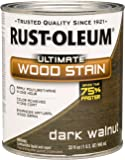 Rust-Oleum 260147 Ultimate Wood Stain, Quart, Dark Walnut