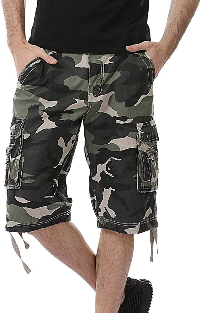MVPKK Pantalones Cortos de Algodón Hombre Pantalones Cortos Hombre ...