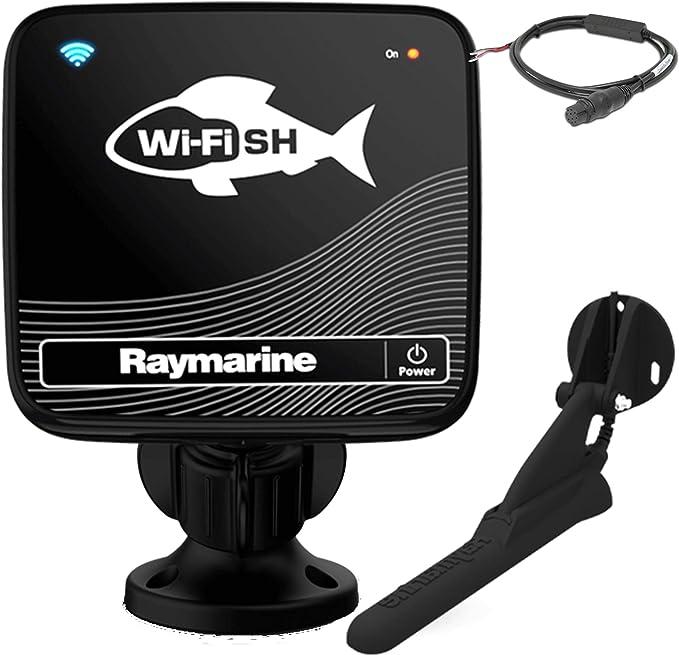 Raymarine Wi-Fish CHIRP DownVision Sonda para Smartphones y Tablets Resistencia al Agua IPX6 y IPX7: Amazon.es: Electrónica