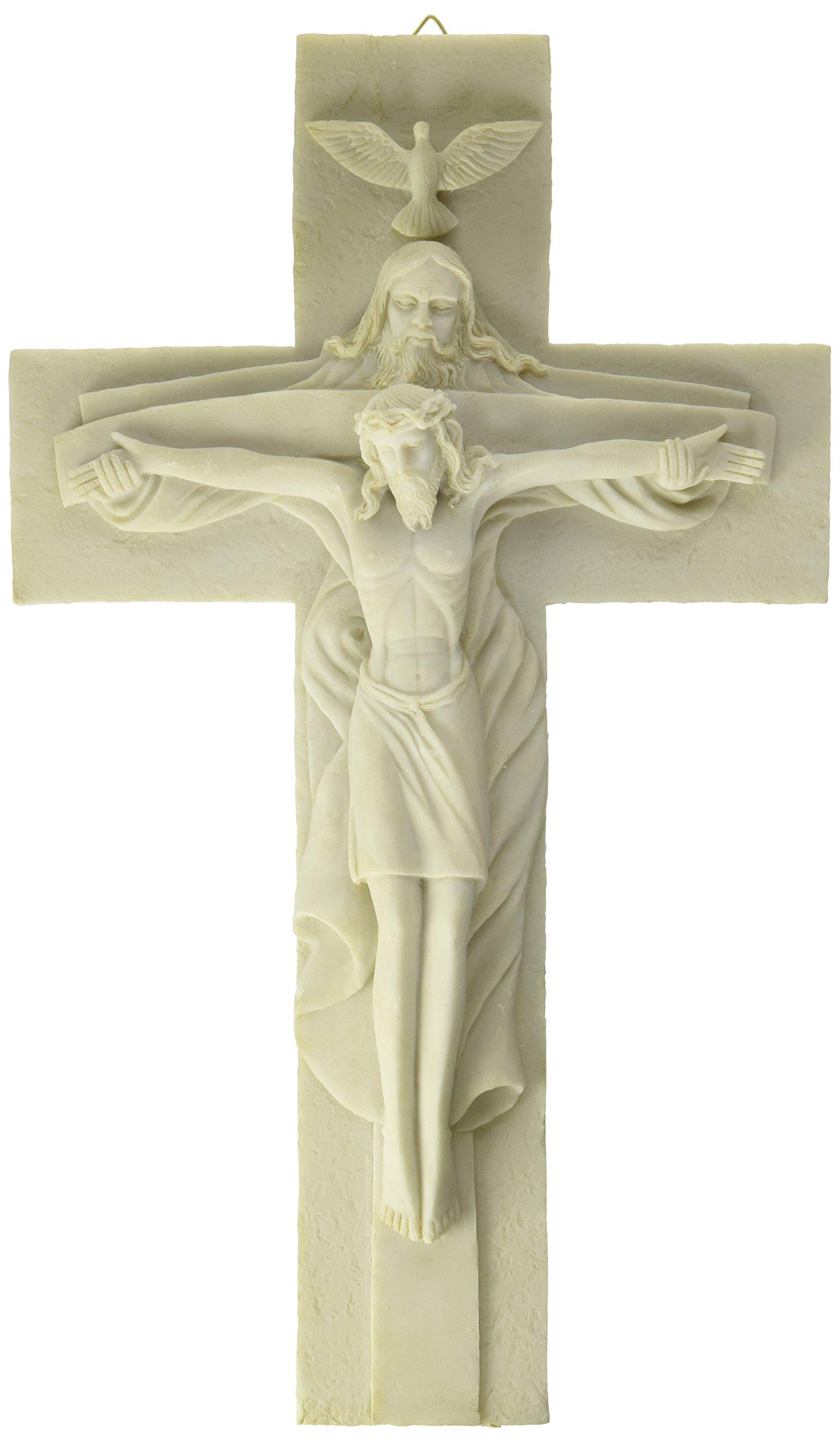 Jesus Cross Atrio with God Holy Religious Crucifixion Wall Decoration