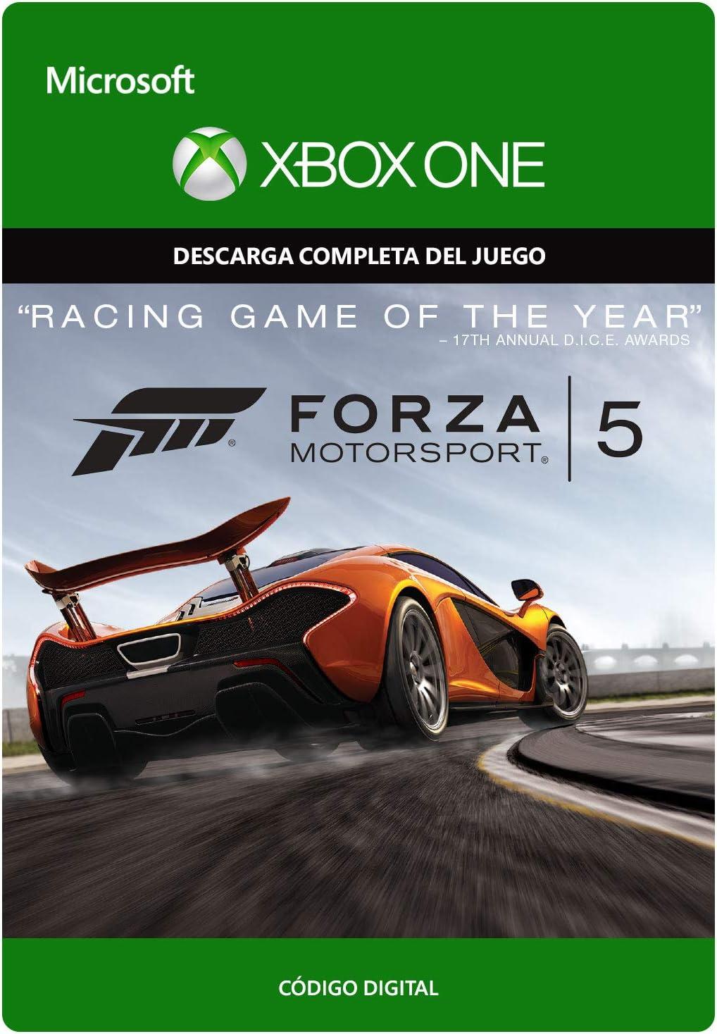Forza Motorsport 5: Game of the Year Edition | Xbox One - Código de descarga: Amazon.es: Videojuegos