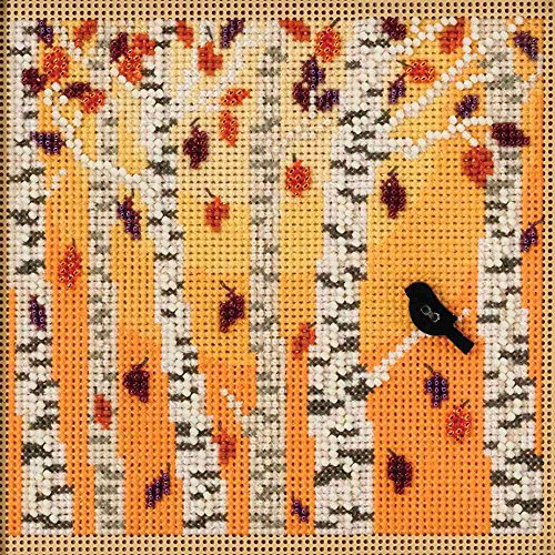 Mill Hill Autumn Woods Beaded Counted Cross Stitch Kit 2018