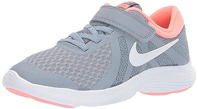 huge discount a5610 92594 Nike Revolution 4 (PSV), Chaussures de Running Compétition Fille,  Multicolore (Obsidian