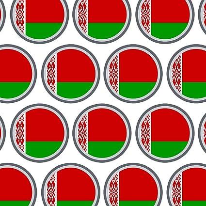 Premium papel de regalo papel de regalo rollo país bandera nacional A-C, color Belarus National Country Flag: Amazon.es: Oficina y papelería