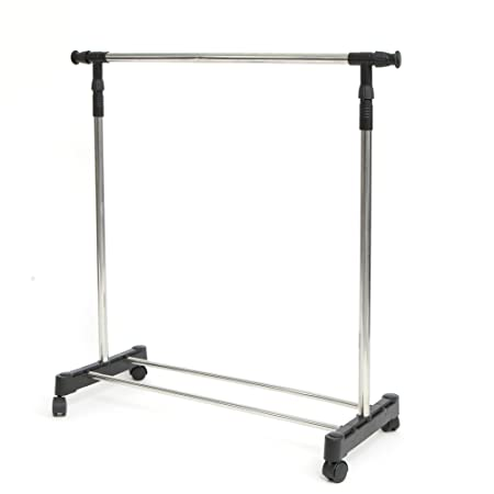 [Amazon Canada]Stainless Steel Adjustable Garment Rack 12,99$