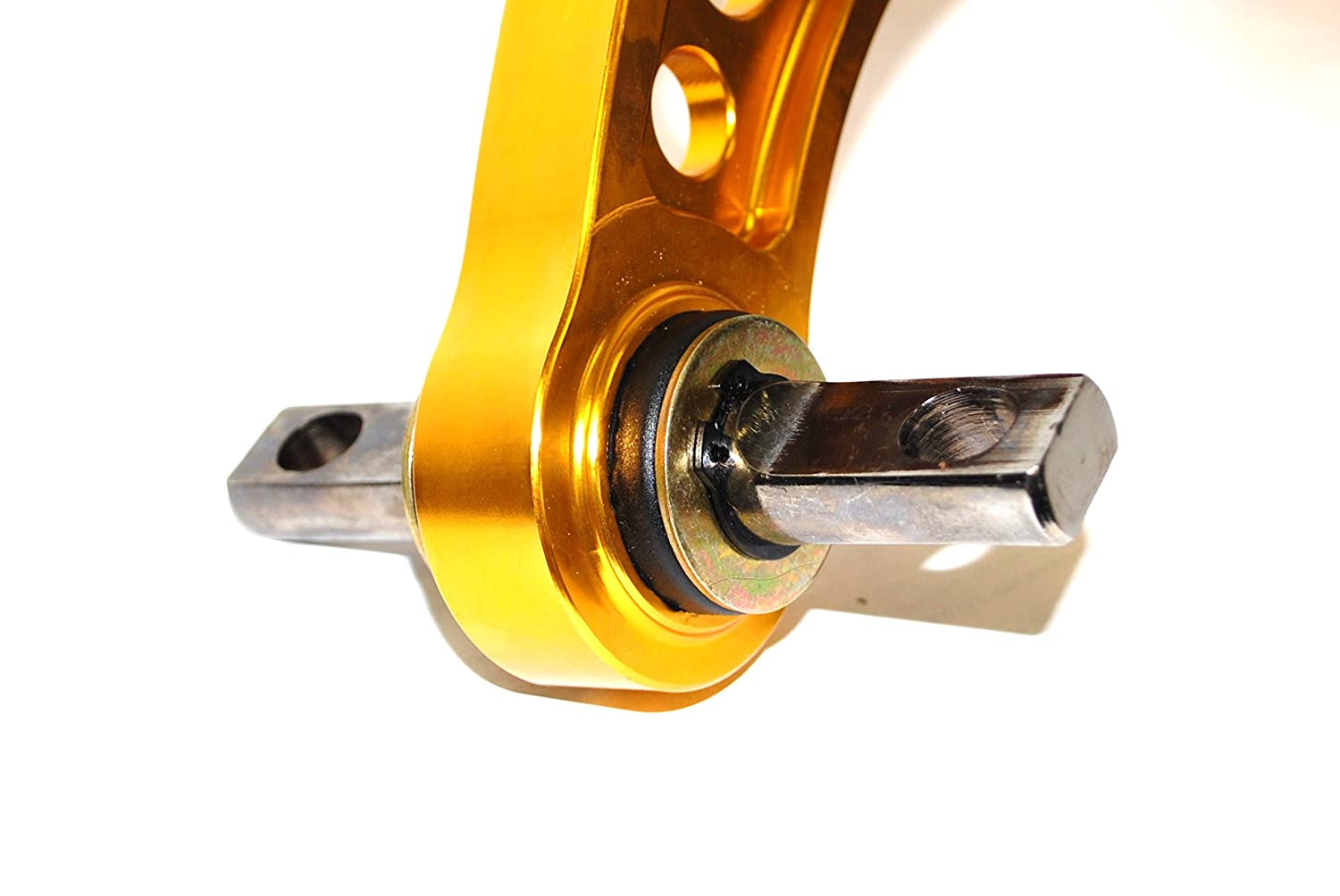 GOLD 1 Pair Rear Adjustable Camber Arm for 2006-2013 Honda Civic
