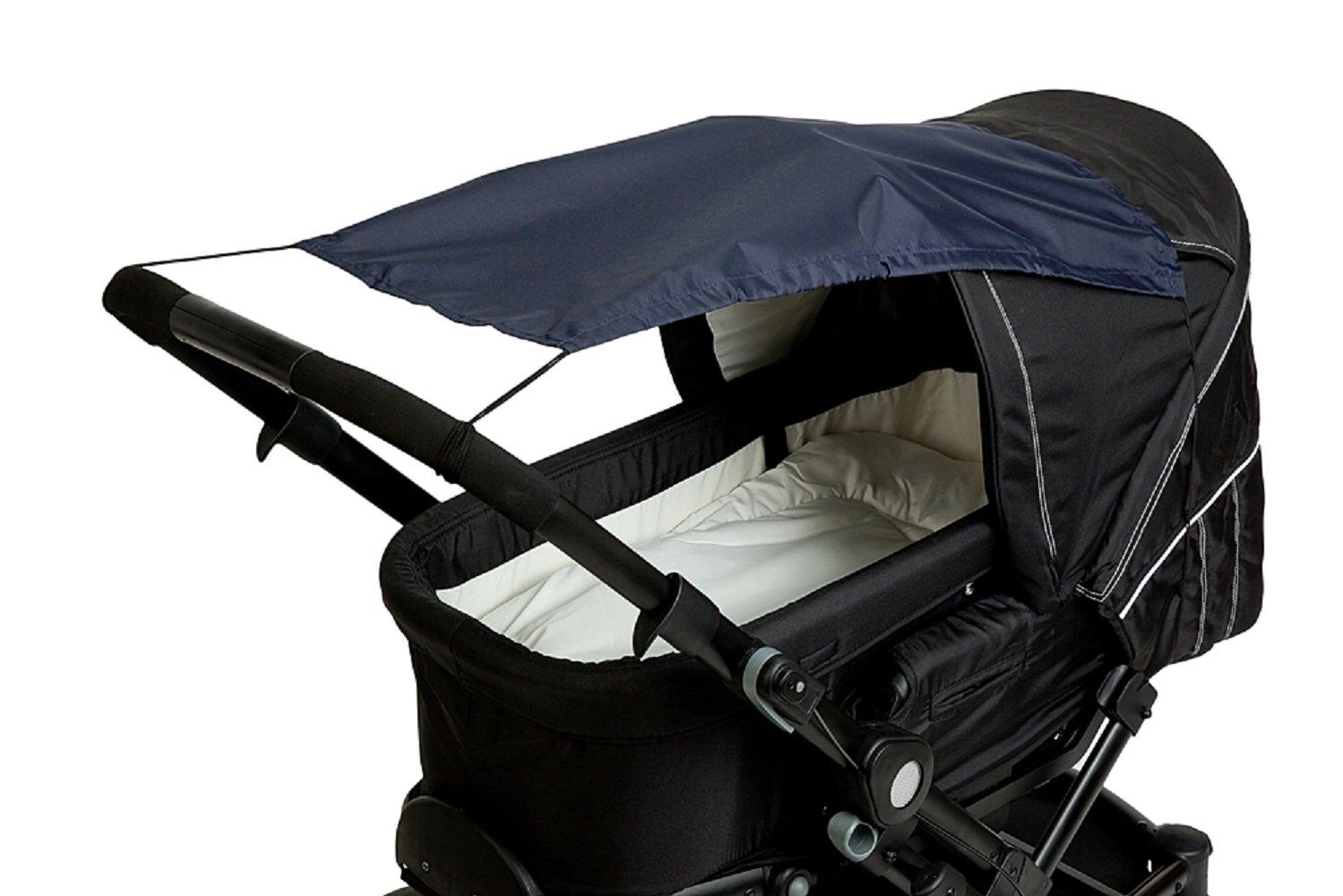 Altabebe AL7010-03 Sonnensegel mit UV Schutz für Kinderwagen/Buggys, beige AL7010 - 03