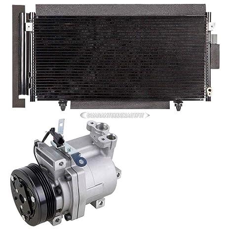 Marca nueva AC Compresor + a/c condensador y secador para Subaru Impreza & WRX