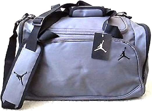Nike Jordan 8A1215 783 Bolsa de Deporte para Hombre, diseño de Baloncesto, Color Gris